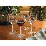 Horses 10 Oz White Wine Glasses by Chris Cummings