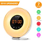 Sunrise Wake Up Light Digital Alarm Clock