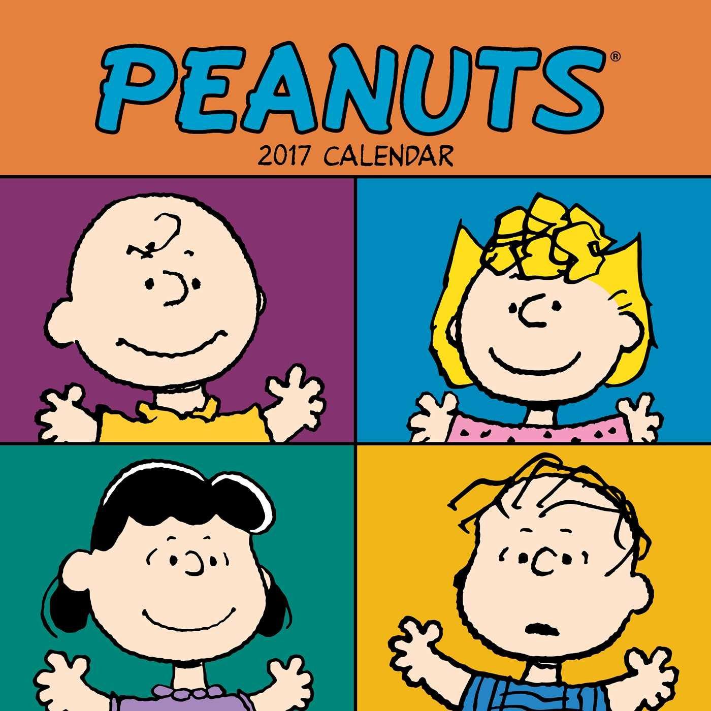 Peanuts 2017 Wall Calendar pdf epub