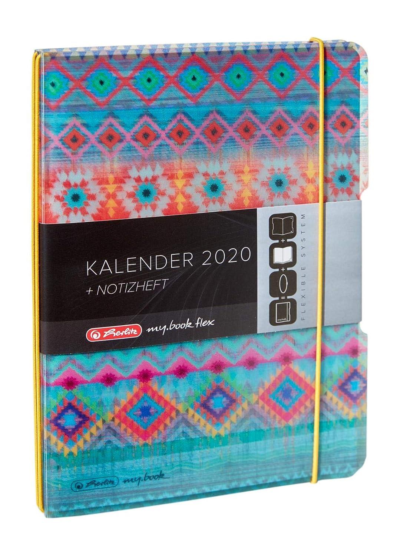 Herlitz 50017782 Kalender Timer Flex Colouring 2019 A5