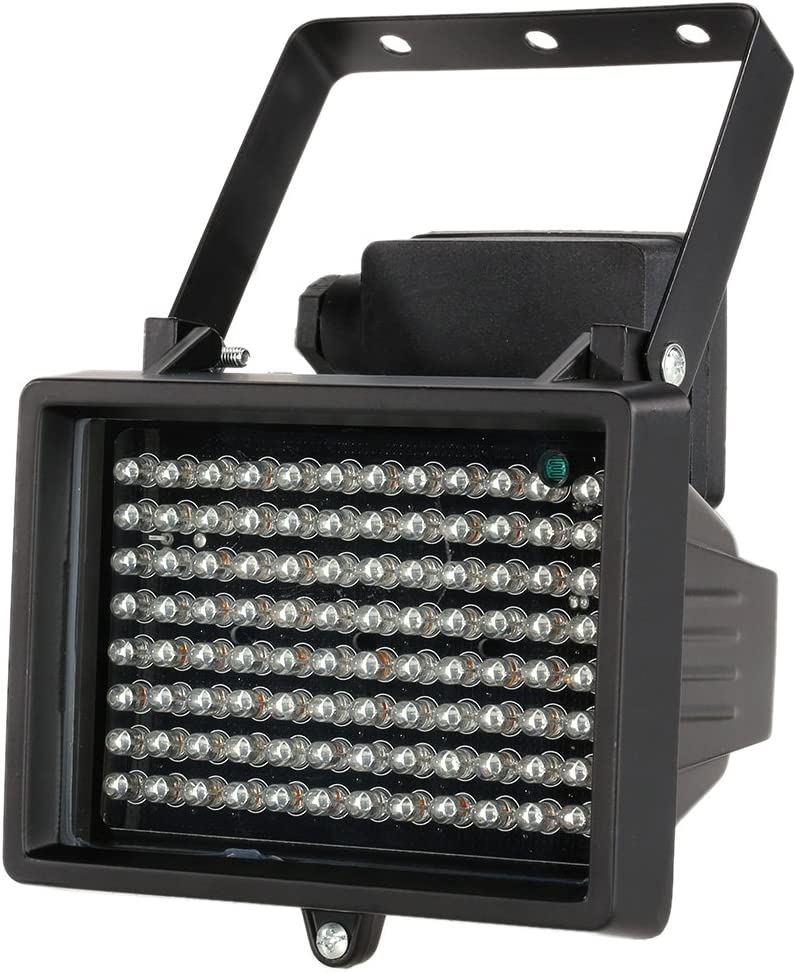 Kkmoon 96 LEDs IR spotlight, waterproof, for night vision CCTV security cameras WAS £25.59 NOW £15.19 @ Amazon