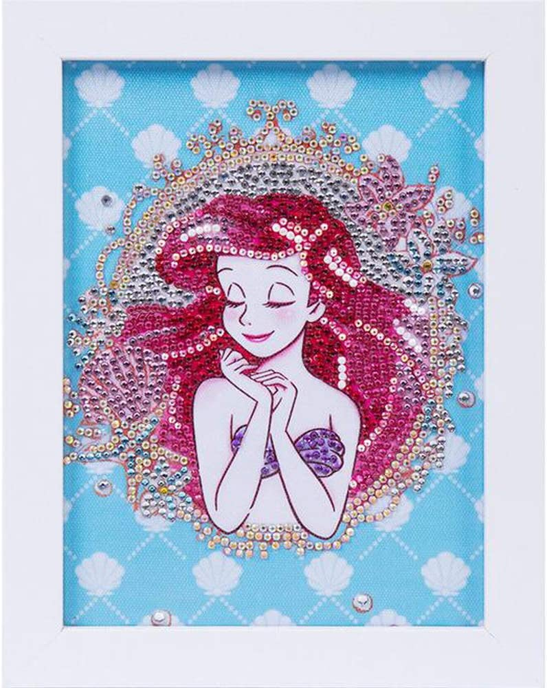 Barbie Princess Carriage Resin Crystal Mosaic Horse Diamond Embroidery 5D Full SquareRound Drill Handmade Mosaic Diamond Painting Kit