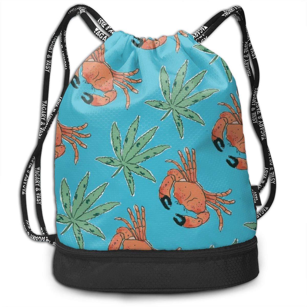 Amazon.com: XUJ YOGA Women Men Stone Crab Marijuana Cool ...