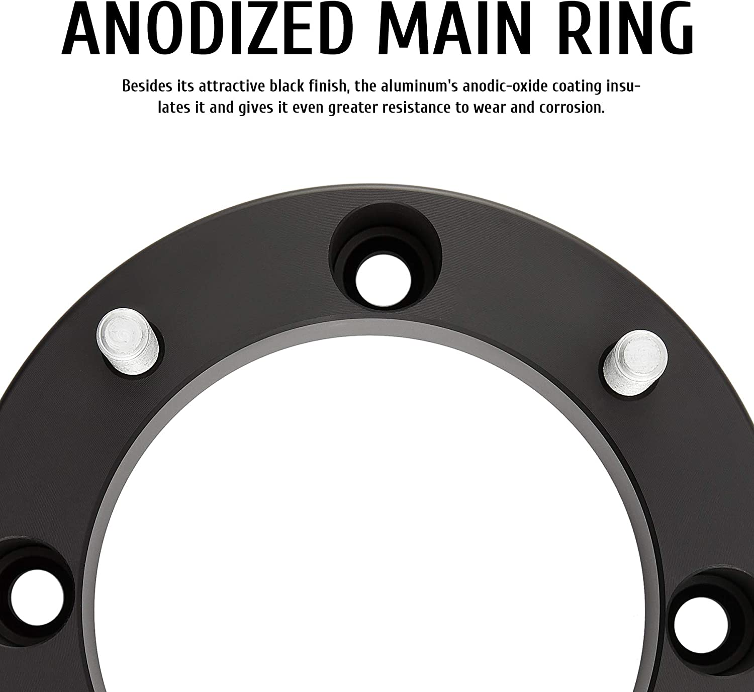 2 inch Black Wheel Adapters with Studs for Polaris Ranger Polaris RZR XP 1000 Trail 900 and More 50mm Quad Four Wheeler Spacer Kit and Accessories Set of 4 Orion Motor Tech 4x156 ATV Wheel Spacers