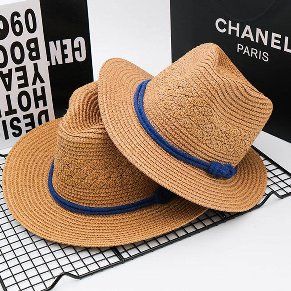 LAMEIDA Sombrero para el Sol Sombrero de Paja Plegable Gorro de ...