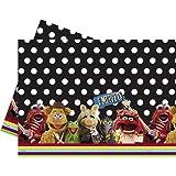 Disney Muppets Plastic Tablecloth, 1.8m x 1.2m