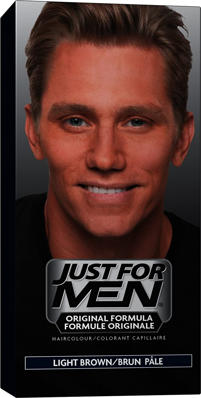 Just For Men Original Formula Men's Hair Color, Light Brown