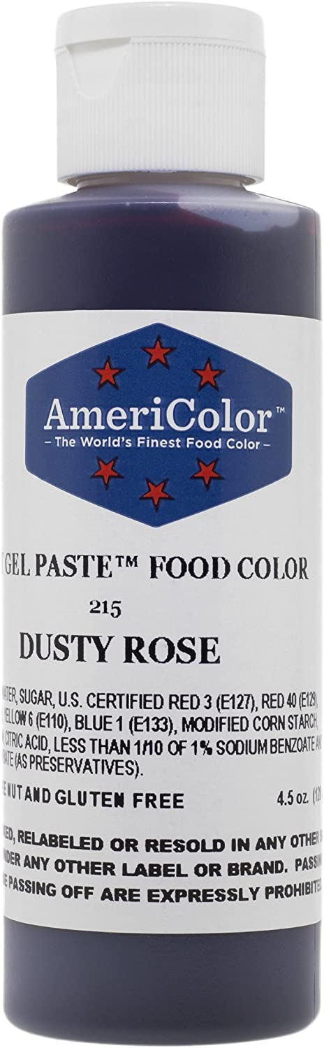 Americolor Dusty Rose Soft Gel Paste 4.5 Ounces