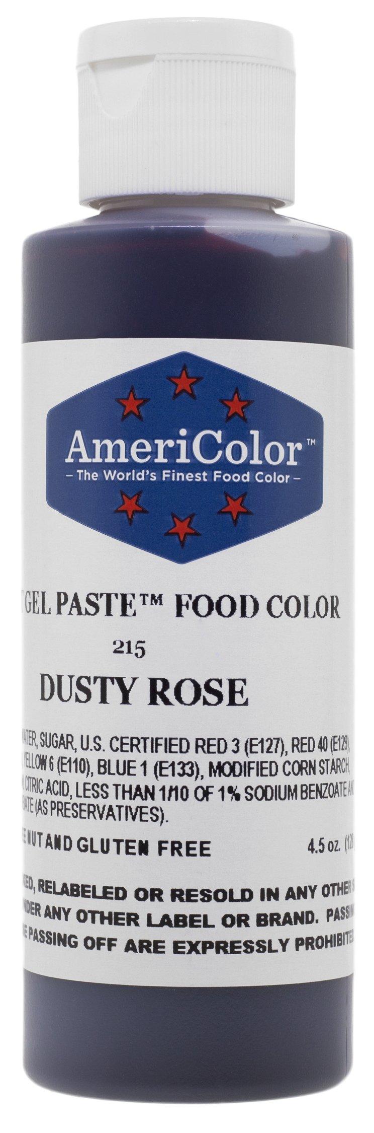 Americolor Dusty Rose Soft Gel Paste 4.5 Ounces