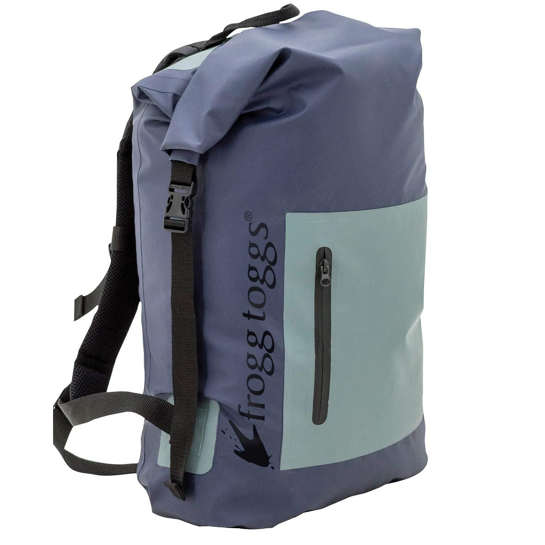 65e260e0e257 Amazon.com  Frogg Toggs PVC Tarpaulin Waterproof Backpack (Blue)  Sports    Outdoors