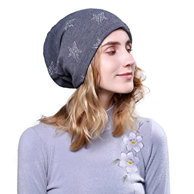 11962e1b948 iShine Unisex Winter Windproof Knitting Skull Cap Wool Warm Slouchy Beanie  Hat  Amazon.co.uk  Clothing