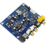 ES9038Q2MデコーダーボードDAC I2S DSD光同軸入力デコーダー(オーディオアンプ用)ヘッドセットアンプ出力DIY