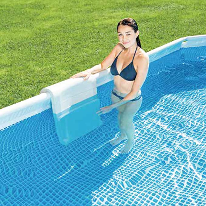Intex 28053 - Asiento Piscina para Piscinas Desmontables: Amazon ...