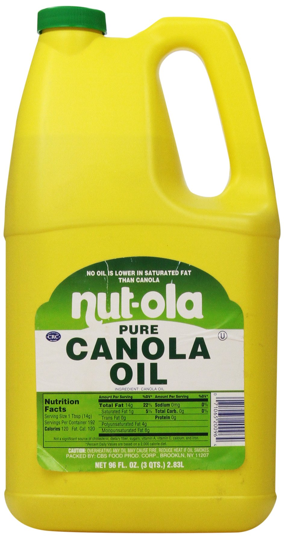 Nutola Canola Oil, 96 Ounce