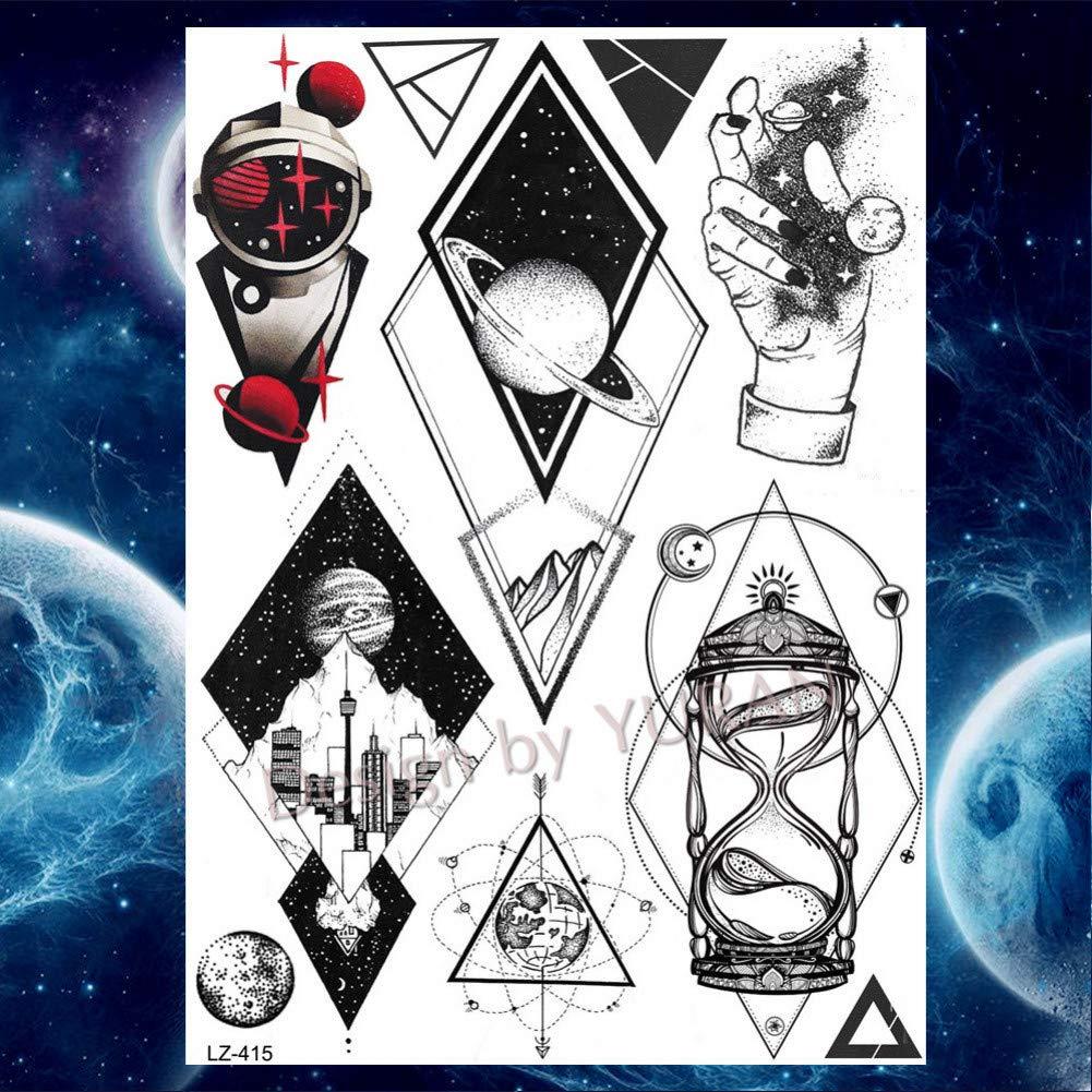 GHHCG Flash Tatuaje de Dibujos Animados para niños a Granel Galaxy ...