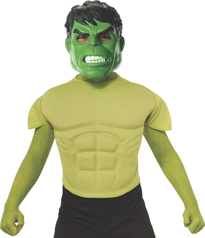 Rubies Kit Disfraz de Hulk musculoso para niño: Amazon.es ...