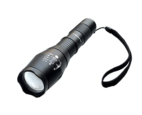 Bell + Howell 1176 Taclight High-Powered Tactical Flashlight with 5 Modes &  Zoom Function