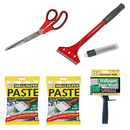 Wallpaper Hanging Tools 2 X 12 Pint Ready Mixed Wallpaper Paste