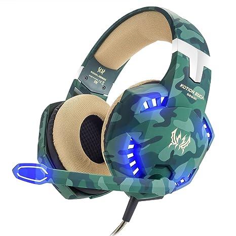 Gaming Headphones Camo