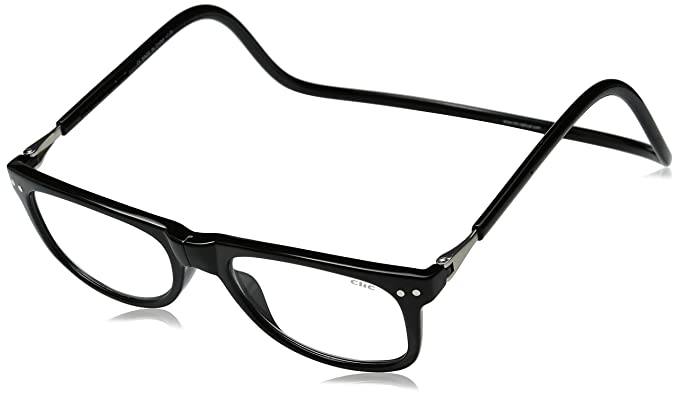166d25620b45 Image Unavailable. Image not available for. Colour  Clic Magnetic  Eyeglasses Ashbury Reading Glasses in Black ...