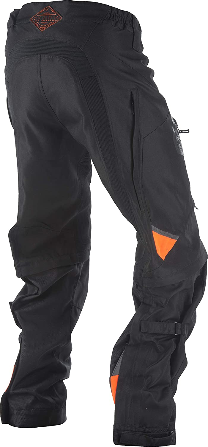 Fly Racing Mens Patrol Over Boot Pants Black//Gray, Size 42