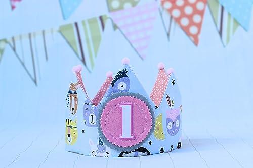 Pittitus corona cumpleaños niña regalo de fiesta infantil ...
