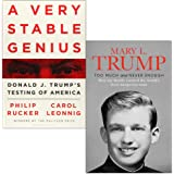 A Very Stable Genius: Donald J. Trump's Testing of America & Too Much and Never Enough 2 Books Collection Set