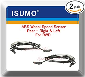 New Rear Left ABS Wheel Speed Sensor For 2005-2010 Chrysler and Dodge V6 V8 AWD