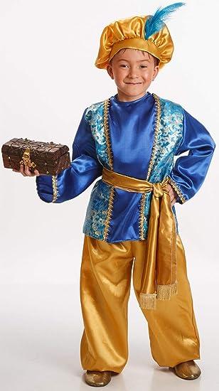 Disfraz de Paje Azul para Niño