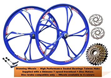 7b166d2acbf JARONOON MTB Rim 24//26 Inch Mountain Bike Wheels 3 Spokes Magnesium  Aluminum Alloy Bicycle ...