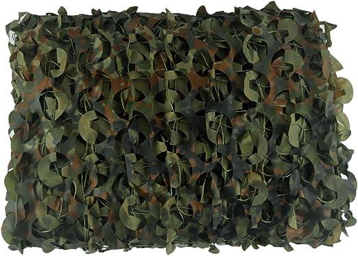 LOOGU Jardín Valla Malla, Red de Camuflaje Parasol para Vallas, Vallas de Ocultar selección de Camuflaje Backgroud decoración (marrón de Color es Retardante de Llama): Amazon.es: Jardín