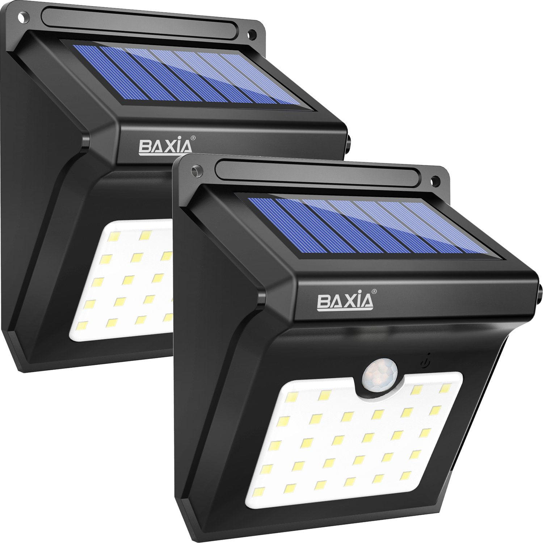 BAXiA LED Lámparas Solares Luces de Exterior con Sensor de Seguridad por