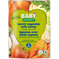 Baby Gourmet Yummy Combos Hearty Vegetables with Turkey, 16 Count