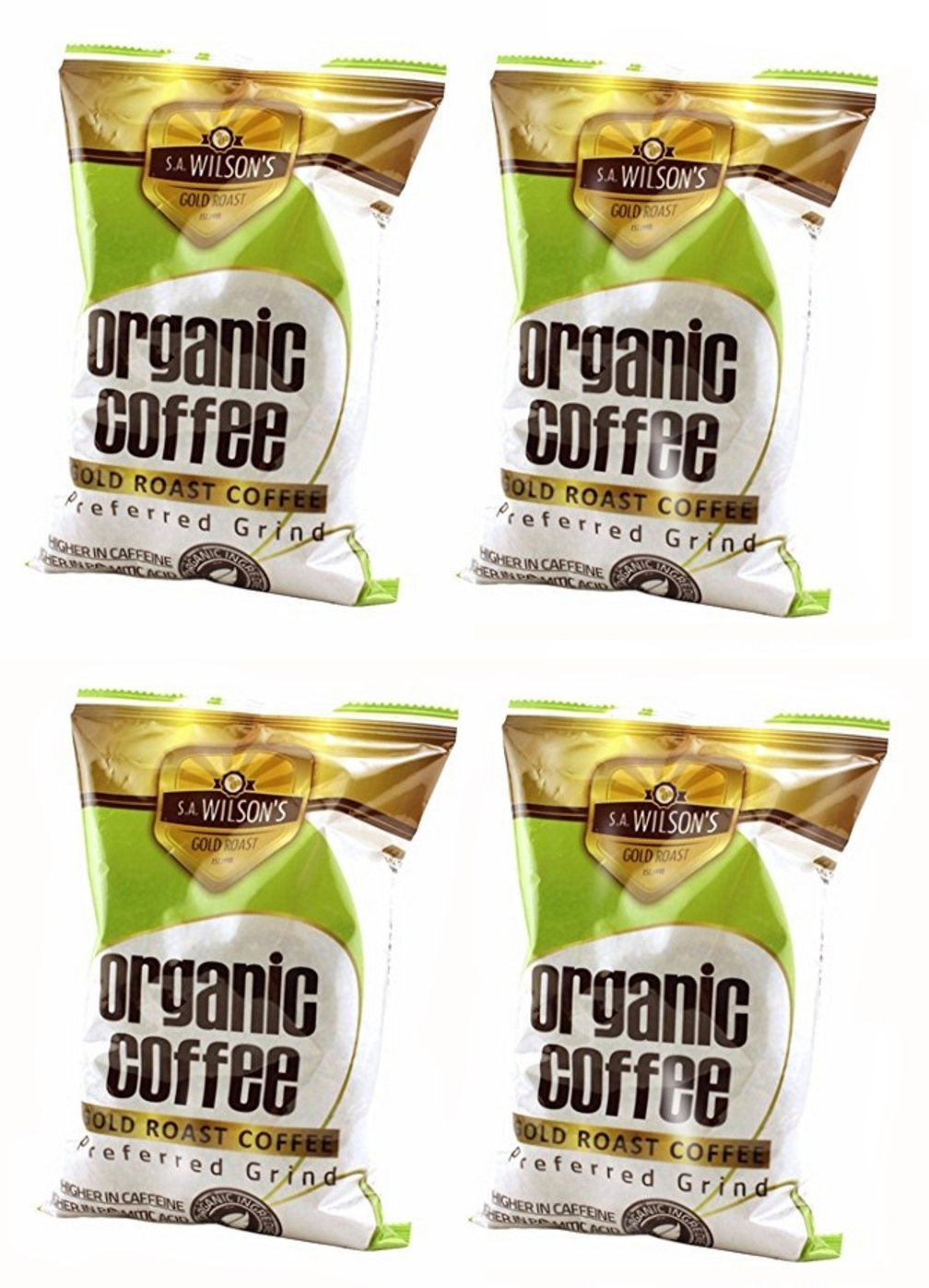 Organic Enema Coffee – One Pound – by S.A. Wilson – Pack of 4