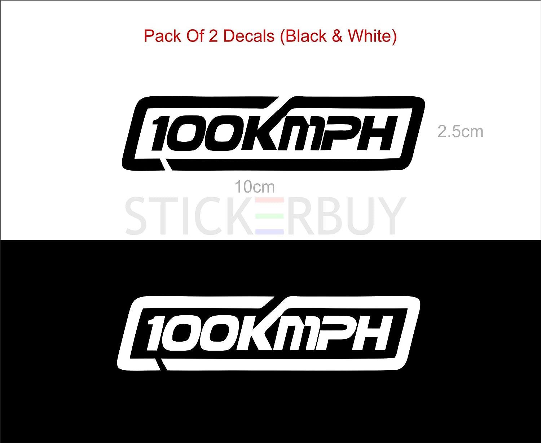 Stickerbuy 100kmph new creative bike tank sticker for ktm duke pulsar apache fz amazon in car motorbike