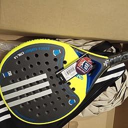 adidas Pala pádel Essex Carbon Control 1.8 Rugosa: Amazon.es: Deportes y aire libre