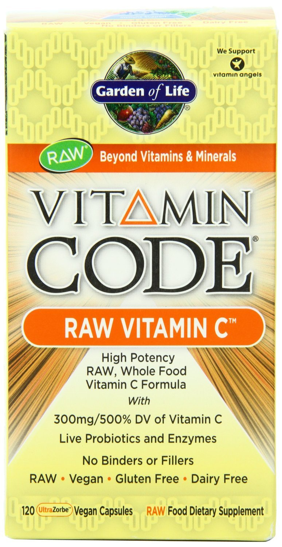 Galleon Garden Of Life Vitamin Code Raw Vitamin C 240