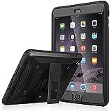 ULAK - Cover iPad Mini 2 Mini 3 super protettiva [Knox Armor] - iPad Mini 3 Cover Custodia integrale super resistente con proteggischermo incorporato Custodia Case per Apple iPad Mini 1/2/3 (Nero)