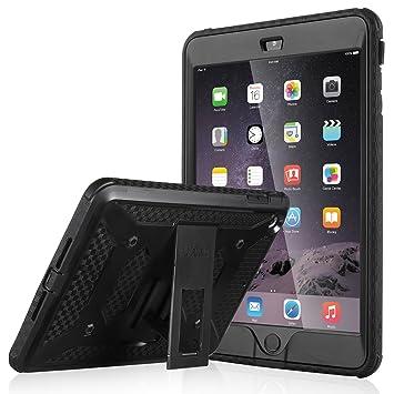 reputable site 3448b 9bad3 iPad Mini Case, iPad Mini 2/3 Case - ULAK [Knox Armor Series] iPad Mini  Rugged Case Dual Layer Hybrid Protective Case Bumper for Apple iPad Mini  1/2/3 ...