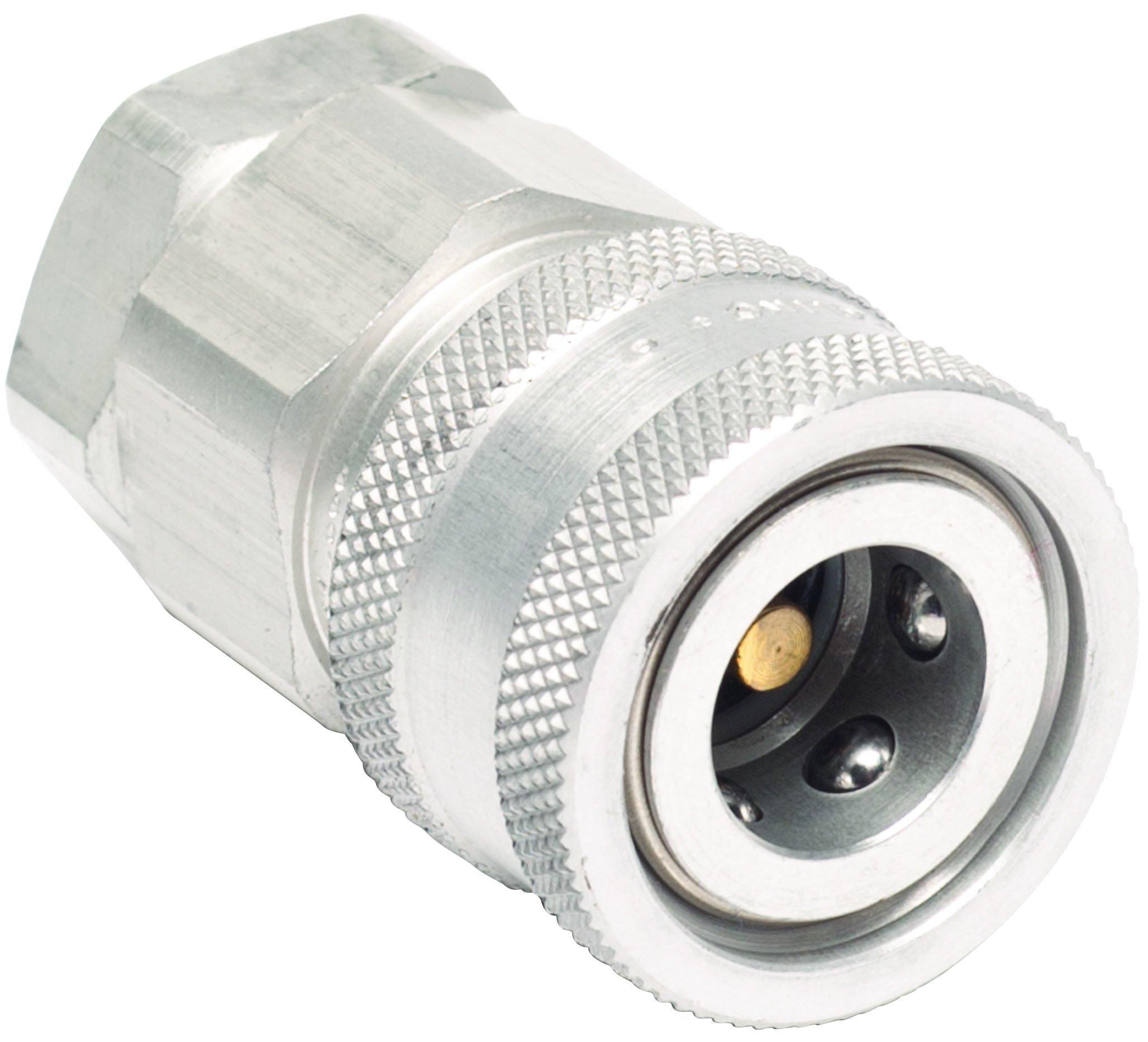 MSA 66272 Aluminum 1/4 NPT Female Socket, Snap-Tite