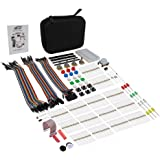 Basic Kit for Raspberry Pi 3 B+ ,2 Model B & 1 Model B+, Electronic Components Accessories Kit for Pi Learning Including Instructions Book and a Carrying Case