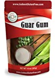 Judee's Guar Gum Powder Gluten Free 10 oz (24 Oz Also) - USA Packaged & Filled - Great for Low-Carb, Keto, & Ice Cream…