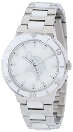 Amazon.com  Game Time Women s Quartz Metal and Stainless Steel ... 8d192a507