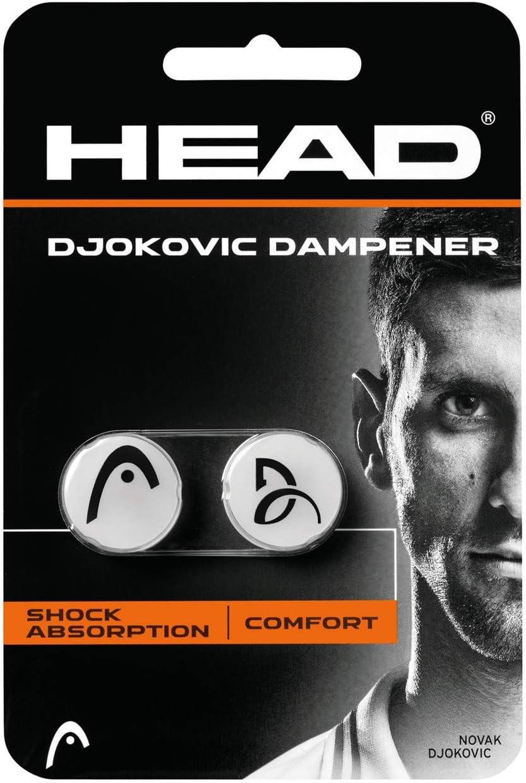 Head Djokovic Antivibrador, Unisex Adulto