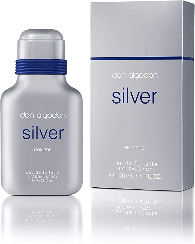 Don Algodón Colonia Silver Spray 100 ml, 1, Neutro, medio: Amazon ...