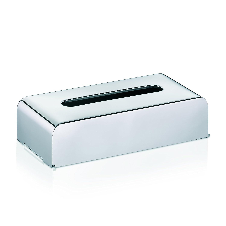 kela, Scatola Porta fazzoletti in Acciaio Inox, Argento (Silber) 22860