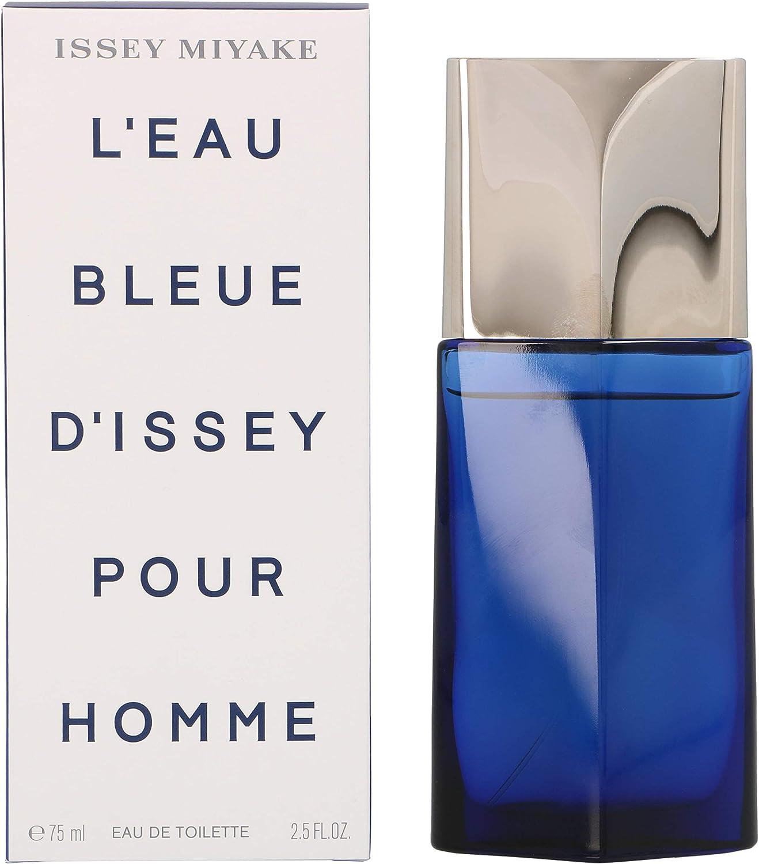 Issey Miyake L'Eau Bleue Homme Eau de Toilette Vaporizador 75 ml