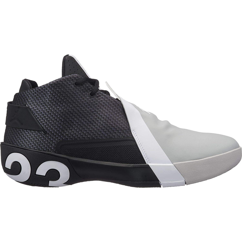 Jordan Ultra Fly 3, Zapatillas de Baloncesto para Hombre, (Black/White/Lt Smoke Grey 001), 42 EU: Amazon.es: Zapatos y complementos