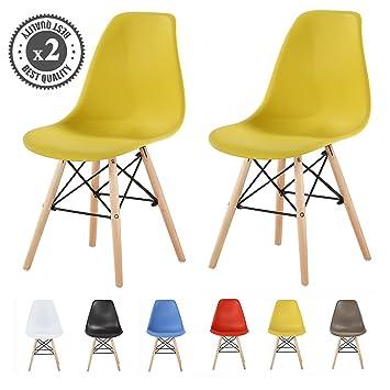 MCC Retro Design Stühle LIA Im 2er Set, Eiffelturm Inspirierter Style Für  Küche, Büro