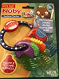 A great idea to buy Nuby teether with baby amber necklace
